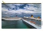 Cruise Ships Port Everglades Florida Carry-all Pouch