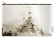 Cruiser Uss New York Going Into Dry Dock San Francisco Circa 1903 Carry-all Pouch