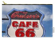 Cruisers Cafe 66 Sign Carry-all Pouch