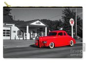 Cruising Route 66 Dwight Il Selective Coloring Digital Art Carry-all Pouch