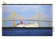 Cruising Tampa Bay Carry-all Pouch by David Lee Thompson