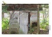 Crumbling Old Outhouse Carry-all Pouch