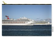 Cruse Ships At Anchor Carry-all Pouch