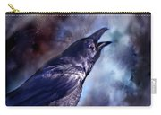 Cry Of The Raven Carry-all Pouch