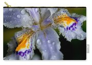 Crying Fringed Iris-iris Japonica Carry-all Pouch