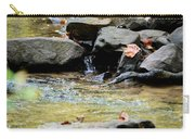 Crystal Clear Waters Of Hurricane Branch Carry-all Pouch