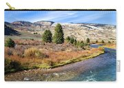 Crystal Creek In The Gros Ventre Carry-all Pouch