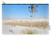 Crystal Dune Tree At White Sands National Monument In New Mexico. Carry-all Pouch
