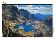 Crystal Lake Carry-all Pouch by Inge Johnsson