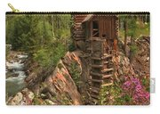 Crystal Mill Wildflowers Carry-all Pouch