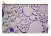 Crystal Pink Abstract Carry-all Pouch