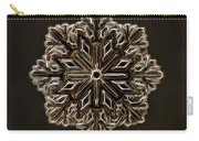 Crystal Snowflake Carry-all Pouch