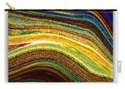 Crystal Waves Abstract 2 Carry-all Pouch