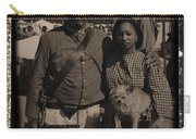 Csa Cavalryman And Wife Carry-all Pouch