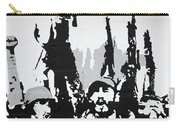 Cuban Revolution Painted On A Wall Carry-all Pouch