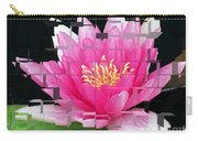Cubed Lily Carry-all Pouch