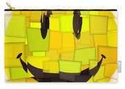 Cubism Smiley Face Carry-all Pouch