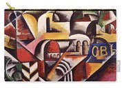 Cubist Cityscape, 1914 Carry-all Pouch