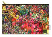 Tulips Of Many Colors - Nyc Markets Carry-all Pouch