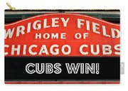 Cubs Win - Wrigley Sign Carry-all Pouch