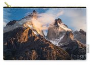 Cuernos Del Paine At Sunrise Carry-all Pouch