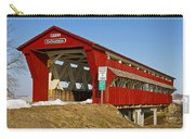 Culbertson Or Treacle Creek Covered Bridge Carry-all Pouch