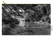 Cumberland Falls Black And White Carry-all Pouch