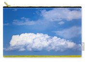 Cumulus Clouds Building Over Canola Carry-all Pouch
