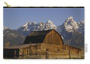 Cunningham Cabin Grand Tetons Wyoming Carry-all Pouch