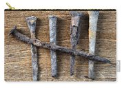 Counting With Old Nails Carry-all Pouch