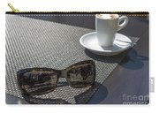 Cup Of Coffee And Sunglasses Carry-all Pouch