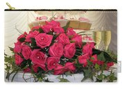 Cupcakes And Roses Carry-all Pouch by Terri Waters