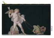 Cupid Led By Butterflies Carry-all Pouch