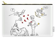 Cupid Valentines Carry-all Pouch