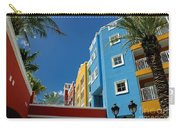 Curacaos Colorful Architecture Carry-all Pouch
