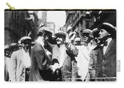 Curb Stock Brokers, C1916 Carry-all Pouch