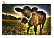 Curious Calf Dark Carry-all Pouch