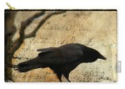 Curious Crow Carry-all Pouch