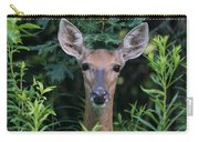 Curious Doe Up Close Carry-all Pouch