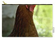 Curious Hen Carry-all Pouch
