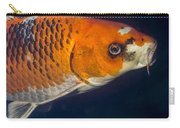 Curious Koi Carry-all Pouch