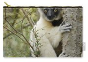 Curious Sifaka 1 Carry-all Pouch