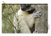Curious Sifaka 2 Carry-all Pouch