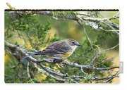 Curious Warbler Carry-all Pouch