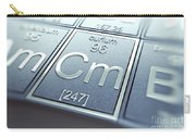Curium Chemical Element Carry-all Pouch