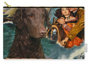 Curly Coated Retriever Art - The World In His Arms Movie Poster Carry-all Pouch