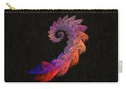 Curly Swirl - Digital Painting Effect Carry-all Pouch