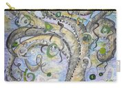 Curly Tree In Fantasy Land Carry-all Pouch