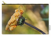 Curly Unfurling Daisy Carry-all Pouch