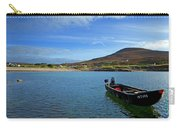 Curragh Moored At Dooega Village Carry-all Pouch